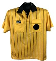 United States Soccer Federation Referee short Sleeve Jersey Men's Yellow M