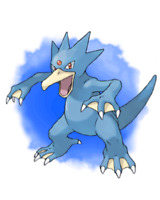 Ultra Pokemon Sun and Moon Ryota Otsubo's Golduck Event 6IV-EV Trained