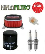 KIT REVISION Bougies filtres moto HONDA AFRICA TWIN XRV750 RD07 1993-2003 NEUF