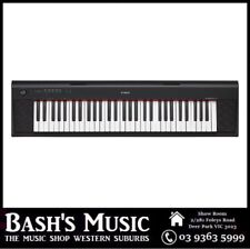 Yamaha NP12 61 Key Digital Piano Keyboard NP-12 + Power Supply