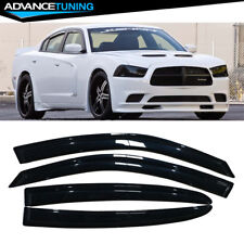 Fits 11-20 Dodge Charger Acrylic Window Visors 4Pc