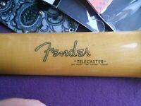 Fender Telecaster Decal 65-67 (Metallic Gold Logo)