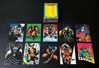 """1992 Comic Images """"Wolverine - From Then Til Now II"""" 90 Card Base Set - Marvel"""