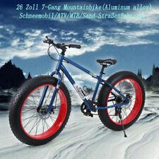 Ridgeyard Fatbike 26 Zoll Mountainbike MTB fette Reifen Fahrrad Fat Bike 26''