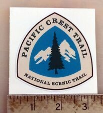 "Pacific Crest Trail PCT sticker decal 3""x2.8"""