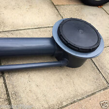"""Aerated Bottom Drain 4"""" inch  Bottom drain manufactured in solid PVC pipe"""
