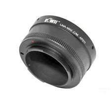 Adaptateur Bague Objectif M42 vers Boitier Photo Canon EOS EF-M Mirrorless