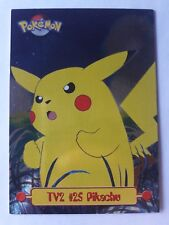TV2 #25 Pikachu - Holo / Foil - English  - Pokemon Card Topps
