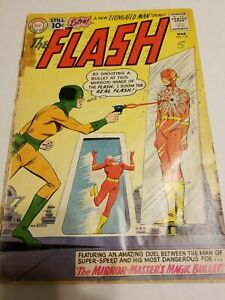Flash #119 1961 Mirror Master's Magic Bullet DC comic