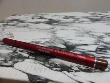 NEW Clarins Retractable Lip Definer Pencil Long Lasting 12 Dark Chocolate Discon