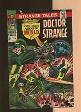 Strange Tales 155 VG 4.0 * 1 Book Lot * Nick Fury! Dr. Strange! Jim Steranko!