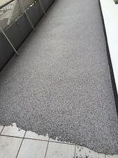 100kg Steinteppich Grau,schwarz,weiß Set inkl Grundierung + Versiegelung 1K PU