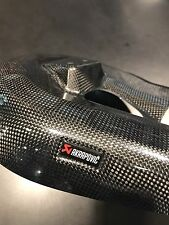 Akrapovic 899/959/1299/R/1199 Ducati rear exhaust heat shield cover carbon fiber