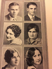 Vintage 1930 Urbana, IL High School Yearbook: The Rosemary. GOOD SHIP U.H.S.