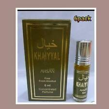 Confezione da 6 6ml khaiyyal da ahsan Nizza profumo unico Roll on Olio/Attar