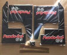 FIAT PANDA 4x4 REPLICA PARASPRUZZI ANT. E POST. OMAGGIO PORTACHIAVI