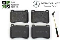 A0044205120 Genuine Mercedes-Benz C-Class W203 Front Brake Pads +Sensor New!