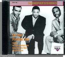 The Impressions - For Your Precious Love - New 16 Song Charly Soul (UK) CD!