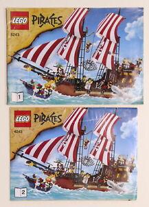 LEGO Pirates - Manuale Istruzioni 6243 - Veliero