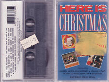 HERE IS CHRISTMAS QUEEN JHON & YOKO MCCARTNEY MC SIGILLATA SEALED NEW CASSETTE