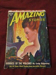 Amazing Stories June 1950 August Derleth Robert Moore Williams Alfred Coppel