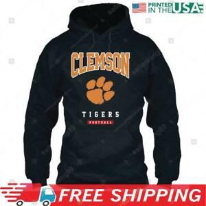 Clemson Tigers Football Club Pullover Hoodie - Gray