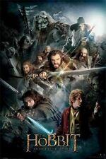 The Hobbit ~ Dark Light 24x36 Movie Poster Unexpected Journey Gandalf Bilbo