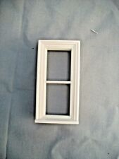 Half Scale 1:24  Victorian  2 Pane  Window  Jackson's Miniatures Dollhouse #L12