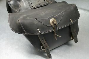 Used Motorcycle Throw Over Saddlebags Used