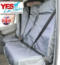 FORD TRANSIT SWB MWB LWB (06-ON)VAN SEAT COVERS HEAVY DUTY WATERPROOF GREY 2+1