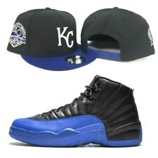 New Era Kansas City Royals KC snapback hat Jordan 12 Royal