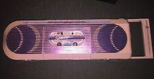 Vintage GE SideStep Boombox AM FM Radio Cassette Player Pink VERY RARE