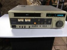 Panasonic AG-DS540 Pro S-VHS VHS Editing Deck AS IS
