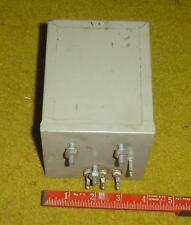 VINTAGE WESTERN ELECTRIC model 105 A CRYSTAL UNIT from broadcast equipment ?