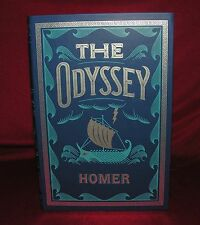 The Odyssey - Homer - New Leather Bound - Silver Foil Stamping