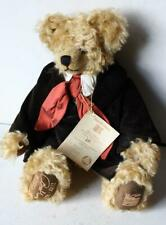 """New ListingHermann Teddy Bear Mohair Limited Edition Beethoven Musical """"Pour Elise"""" Gumps"""