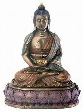 Buddha Statue Amitabha Bronze Resin Buddhist Eastern Deity Figurine #7818