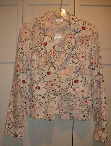 NWT Ann Taylor LOFT Spring All Cotton Blazer Size 6