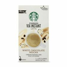 Starbucks VIA Instant White Chocolate Mocha Latte, 5 1.23 Ounce (Pack of 5)