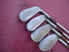 Old Spalding and Top-Flite Gold Club Irons 4, 6, 8, 9 RH True Temper Steel