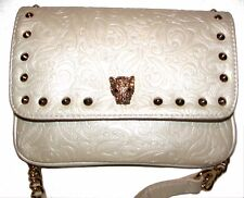 GUESS White off Embossed Shoulder bag Clutch Cross-body NEW