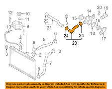 For Hyundai Accent 1.6L L4 2001-2005 Lower Radiator Coolant Hose Genuine