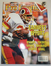 Pro Football Magazine Earnest Byner 'Skins 1991 121014R