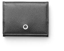 Small Black Saffiano Coin Purse - Graf von Faber-Castell