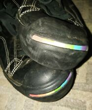 Jack Purcell Converse RARE Dark Side of the Moon Black Leather Ox