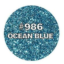 Ocean Blue Glitter Natural Cake Decoration Edible Toppers Dairy Soy Sugar Free