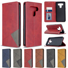 For LG K61 K51 Luxury Magnetic Leather Flip Wallet Card Stand TPU Case Cover