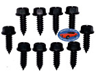 Ford Lincoln Mercury Body Fender Frame Factory Correct 14-14 Bolt Bolts 10pc L