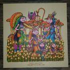 "Signed Marq Spusta Happy Harvesters OLD GOLD 7"" Art Print Poster Garcia Birds"