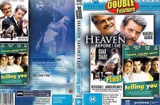 Heaven Before I Die + Telling You: Double Feature (DVD, M) VG Free Postage 🇦🇺